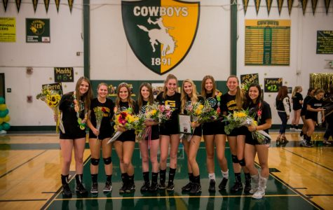 The Girls' Volleyball Season Comes to an End