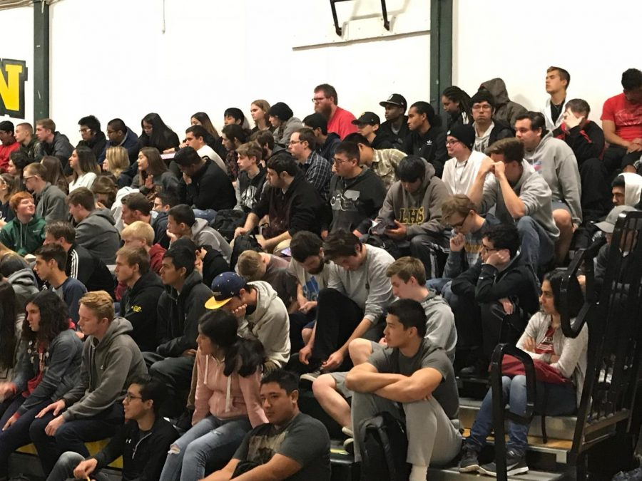 Emotional Mock Funeral Takes Place in Livermore High Gymnasium