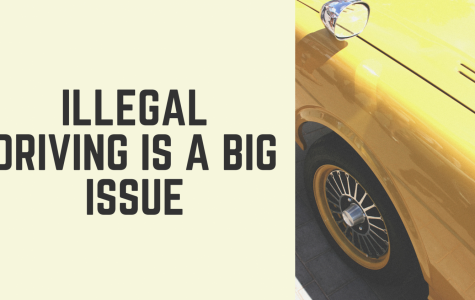 Illegal Driving is a Big Issue
