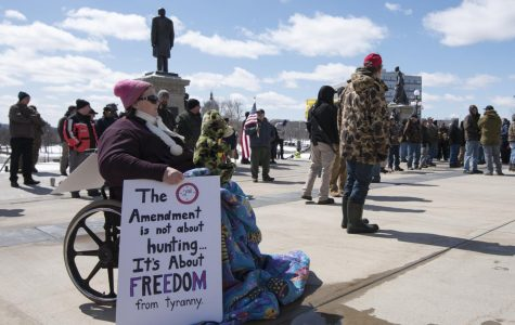 LHS Students Participate in Gun Rights Walkout
