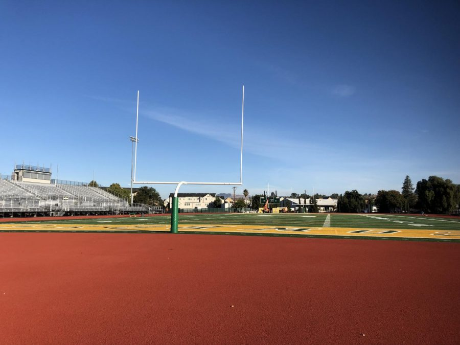 The newly finished Livermore High School stadium.