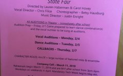 LHS Spring Musical Auditions Begin in February