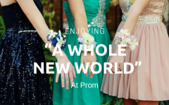 "Enjoying ""A Whole New World"" At Junior Prom"