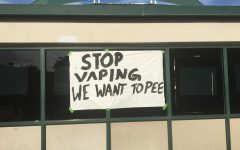 Mysterious Sign Asks Students to Stop Vaping in Bathrooms