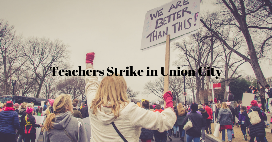Teachers+Strike+in+Union+City