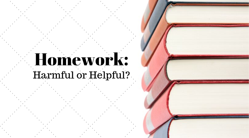 Homework harmful or helpful article