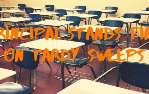 Principal Stands Firm On Tardy Sweeps