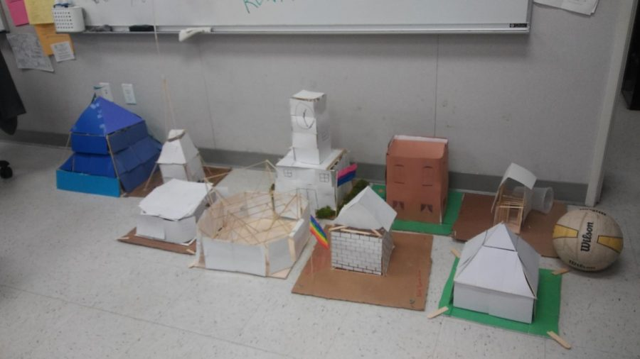 Bringing the house down-Mr.Buchenauer's Earth Science Class Earthquake Homes
