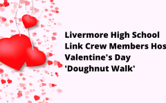 Link Crew Members Host Valentine's Day 'Doughnut Walk'