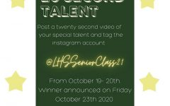 LHS Hosts Virtual Senior Talent Show 2020: Collaboration of the Seniors!