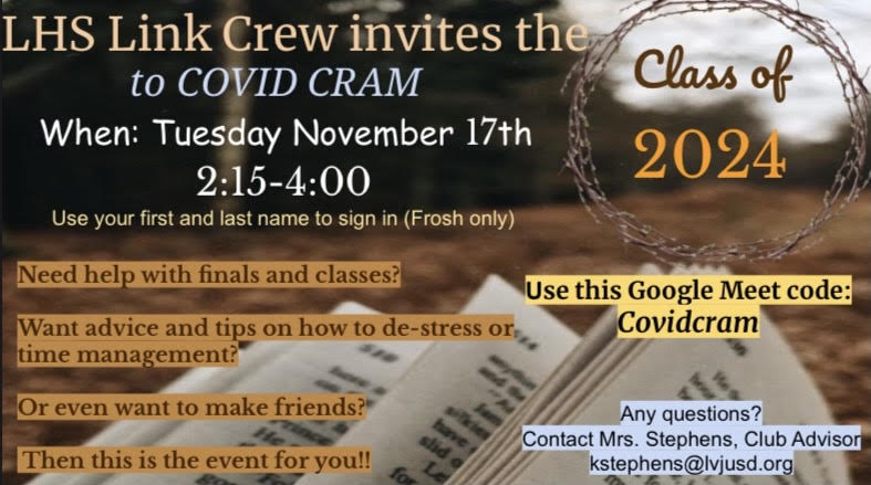 CovidCram for Frosh Students