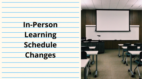 In-Person Learning Schedule Changes