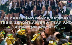 JV Cheer and Dance kickoff their seasons after a year and a half on and off.