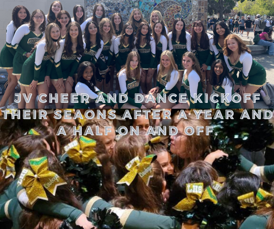 JV+Cheer+and+Dance+kickoff+their+seasons+after+a+year+and+a+half+on+and+off.