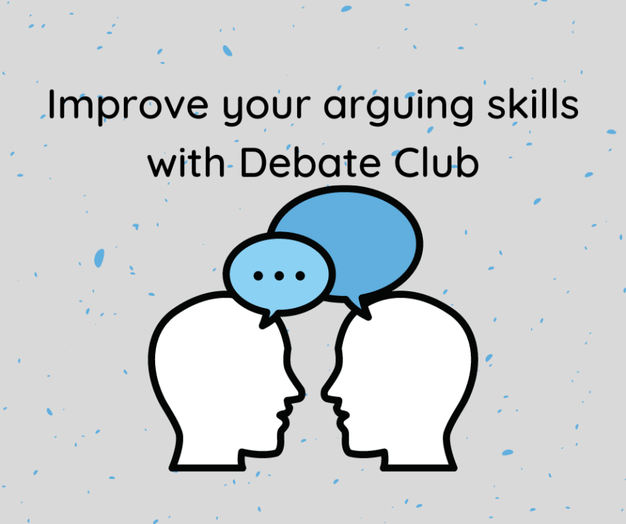 Improve your arguing skills with Debate Club